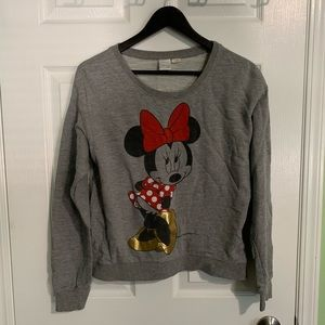 Minnie mouse crew neck sweater